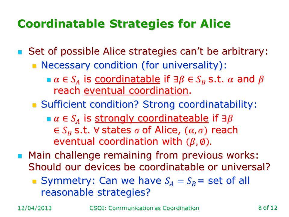 of 12 Theorems 12/04/2013CSOI: Communication as Coordination9