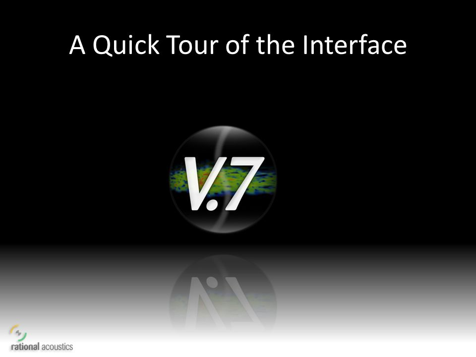 A Quick Tour of the Interface