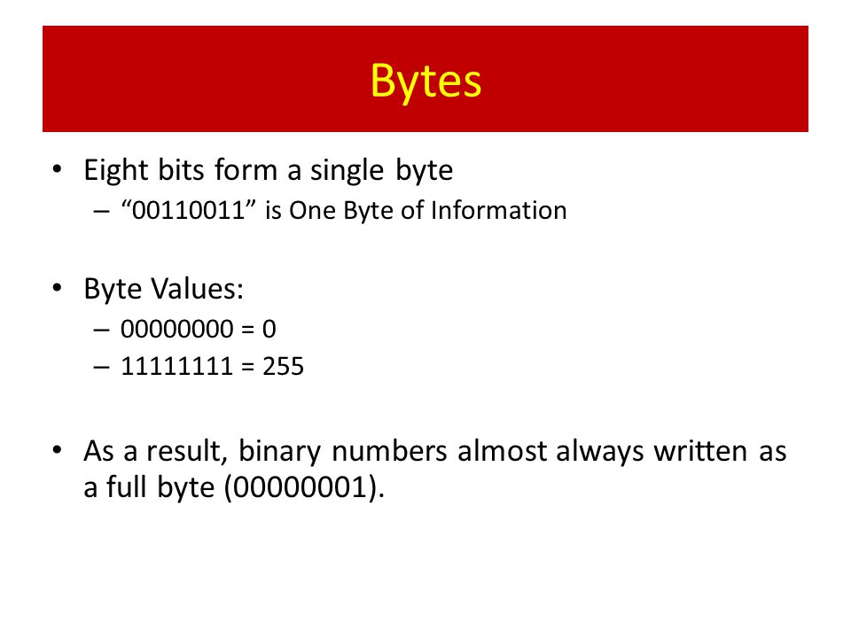 Example: – If you type cool on the keyboard, your keyboard would change it into four bytes as follows: 01000011 01001111 0100111101001100 C o o l HARDWARE: Your Physical Interface