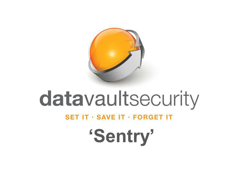 Data Vault Security Sentry Audit Trail Traditional tools require a leap of faith that the data is safe because there is no information about the device – it is simply missing.