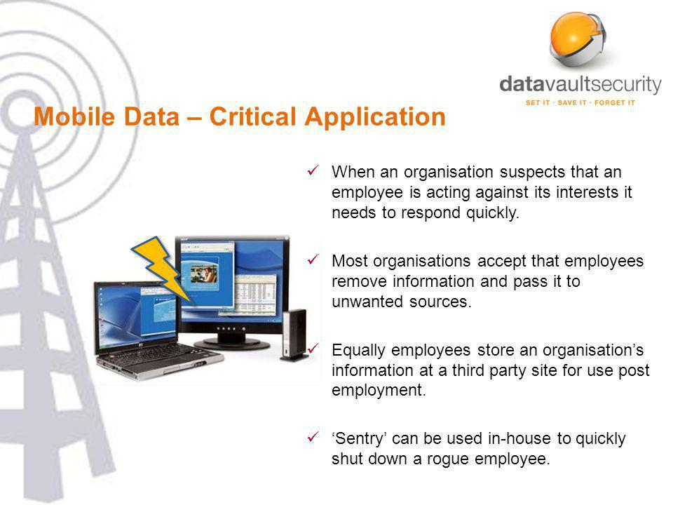 the data security specialists…