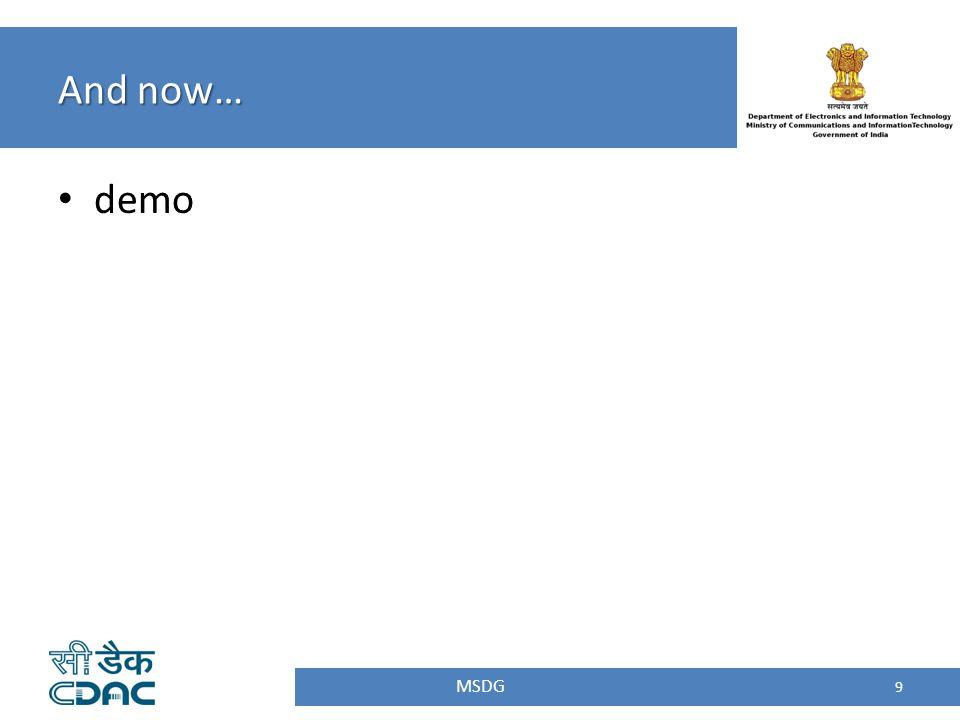 Visit the official Web site :: http://mgov.gov.in/http://mgov.gov.in/ Visit the Govt Appstore :: http://apps.mgov.gov.in/http://apps.mgov.gov.in/ Download the notified Framework for Mobile Governance :: http://mit.gov.in/content/framework-mobile-governance http://mit.gov.in/content/framework-mobile-governance Visit us on Facebook :: www.facebook.com/DIT.MGOVwww.facebook.com/DIT.MGOV Contact info: msdp@cdac.in Thank you.