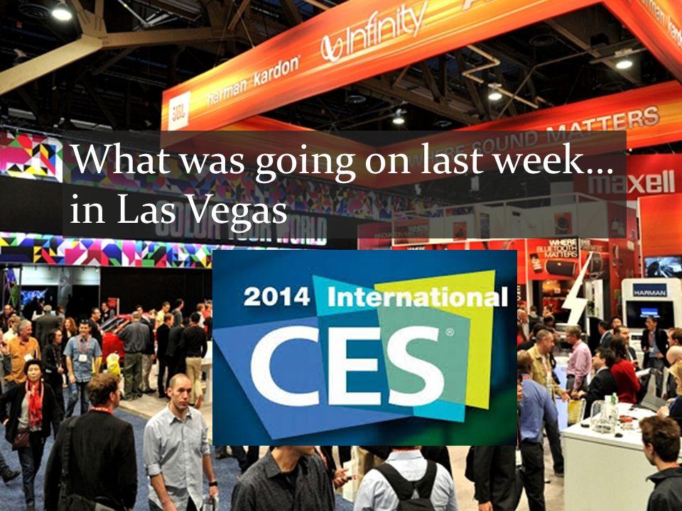 What was going on last week… in Las Vegas