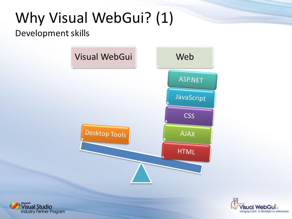 Why Visual WebGui.