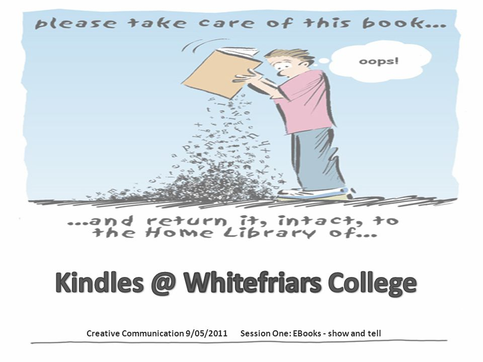 At Whitefriars a Device and account information procedure document is kept on our intranet so all library staff can access.