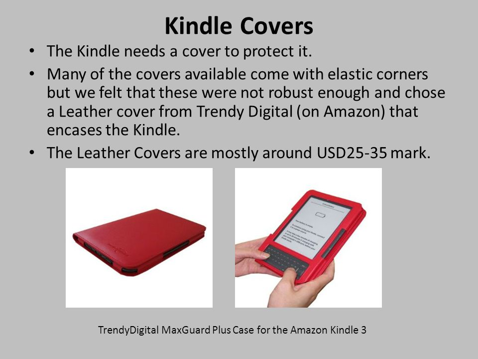 How to order eBooks and get them onto your Kindle.