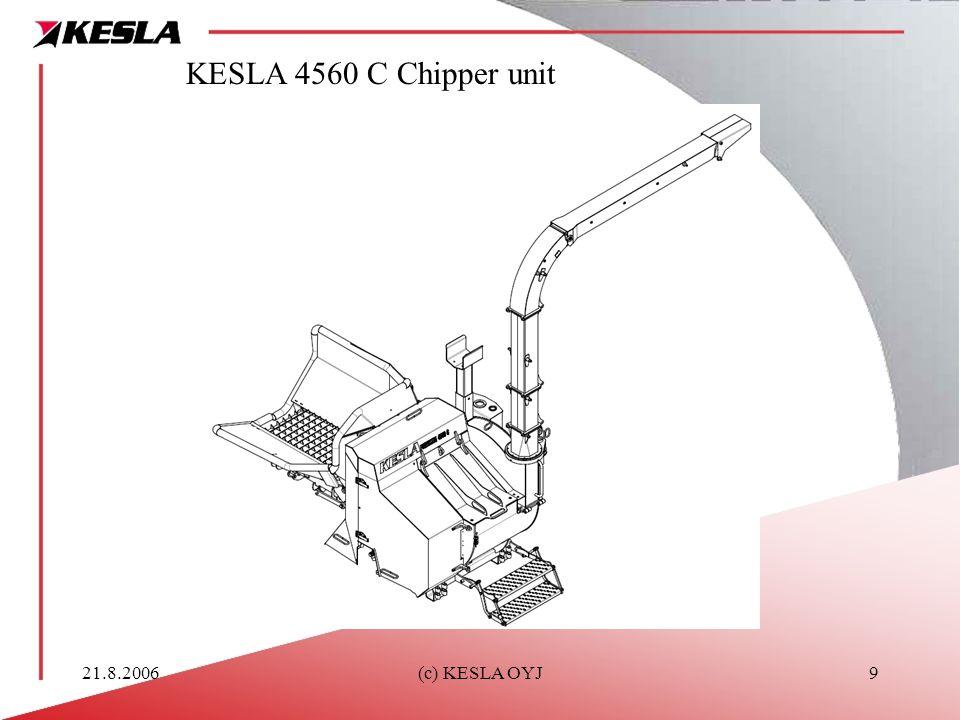 21.8.2006(c) KESLA OYJ9 KESLA 4560 C Chipper unit