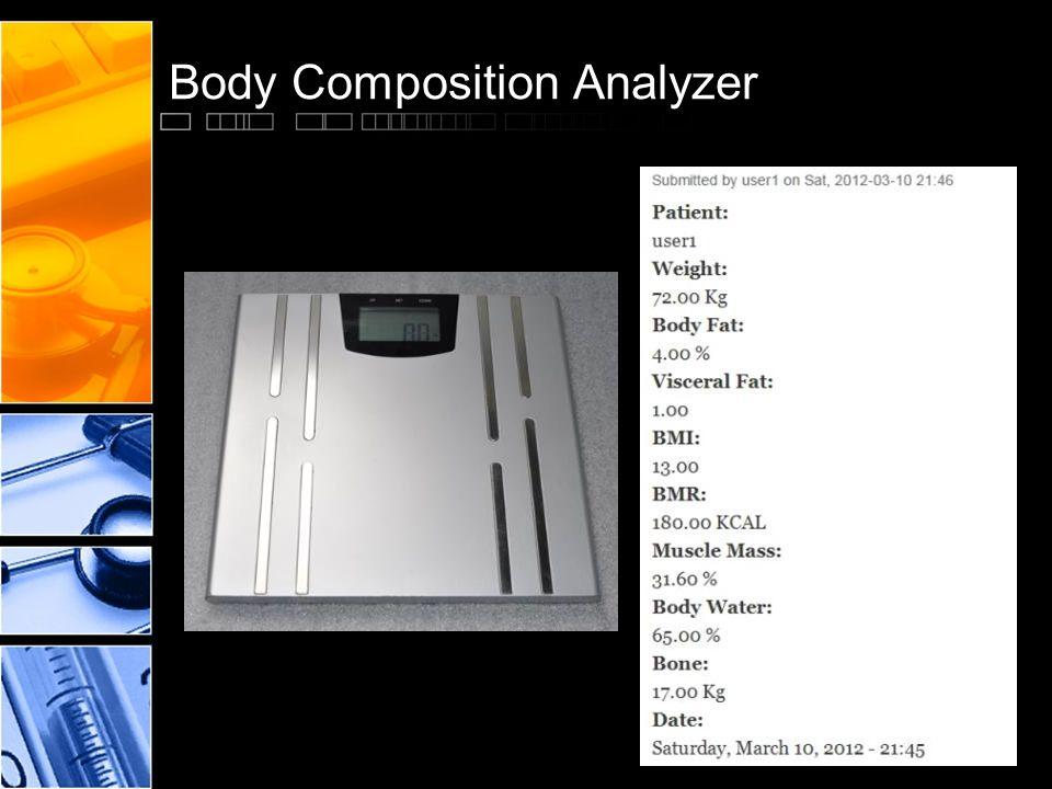 Body Composition Analyzer