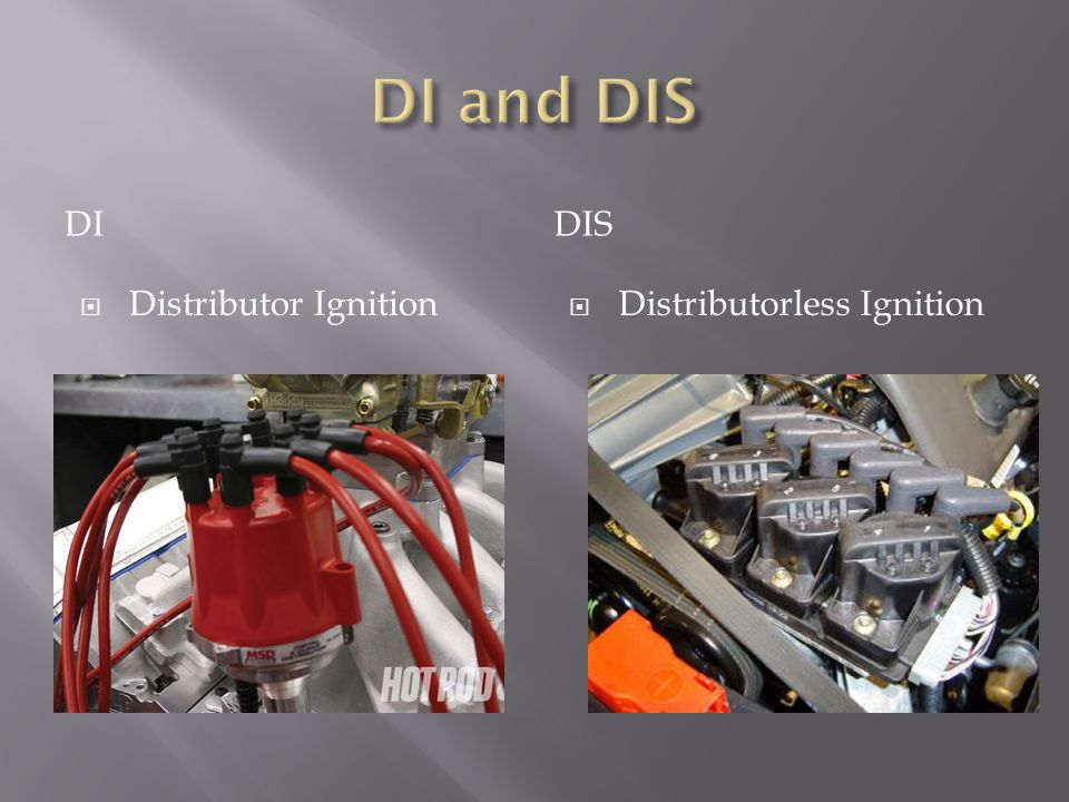 DIDIS Distributor Ignition Distributorless Ignition