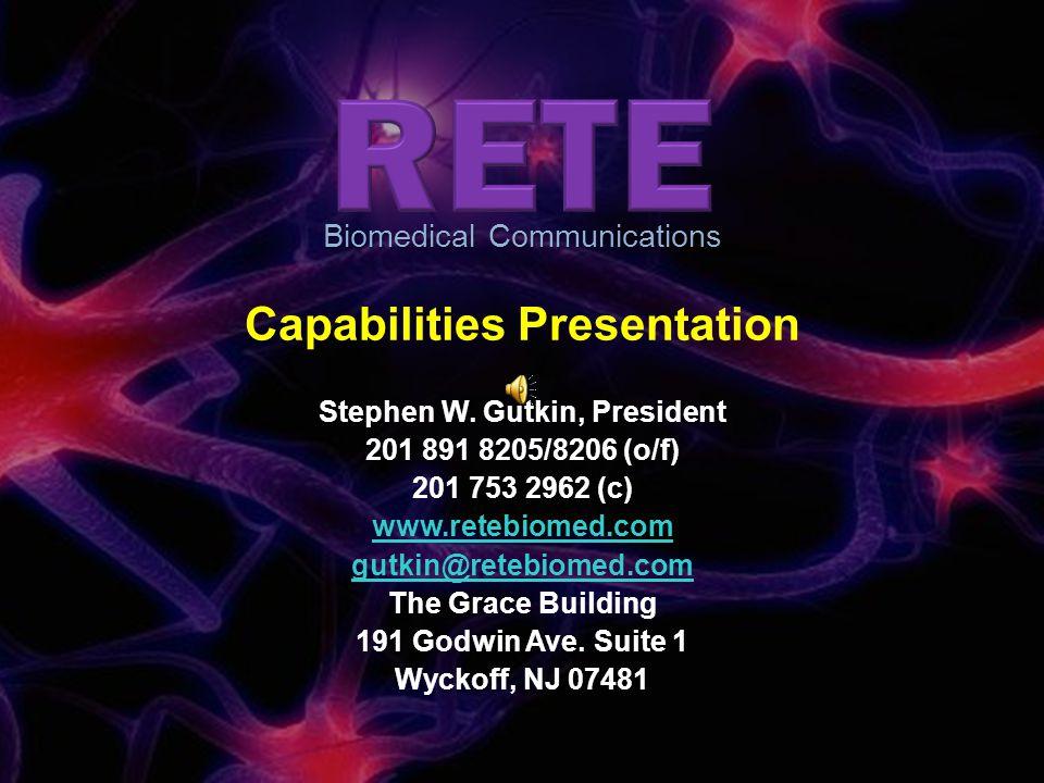 Capabilities Presentation Stephen W.