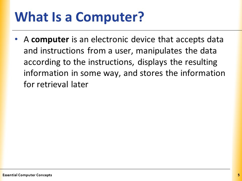 XP What Is a Computer.