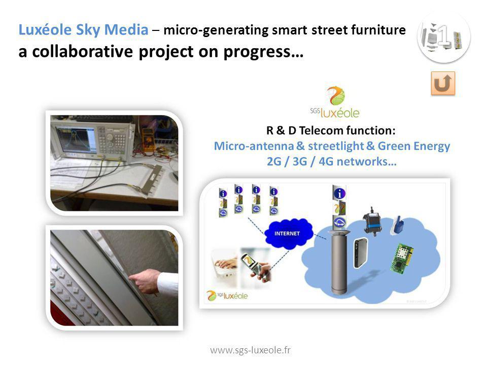 Who-is-WATT.NET (in development) Web platform & Communication board dedicated to Sustainable Innovative Territories http://www.blueterra.info/index.php/watt-fuers-rad www.sgs-luxeole.fr