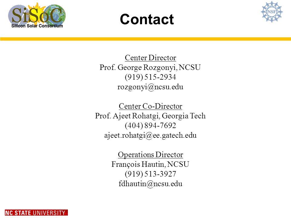 Contact Center Director Prof.