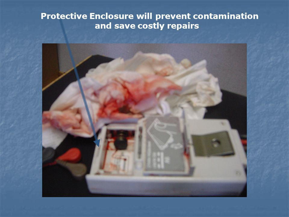 Our Protective Enclosure will prevent this contamination