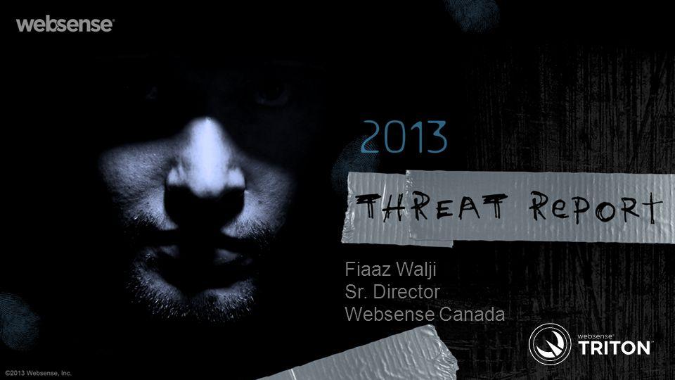 Fiaaz Walji Sr. Director Websense Canada