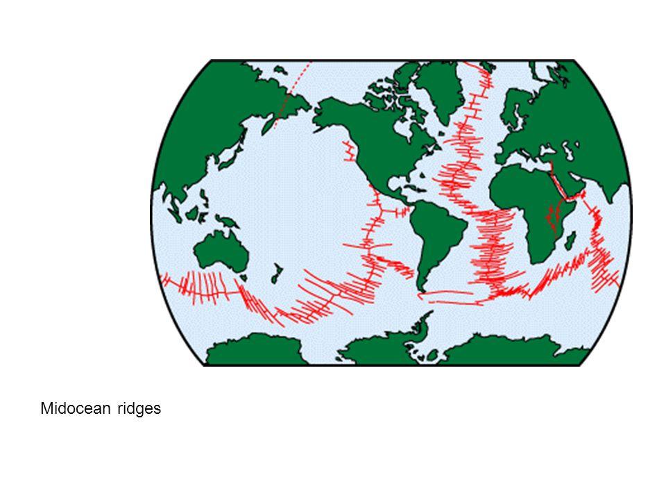 Midocean ridges