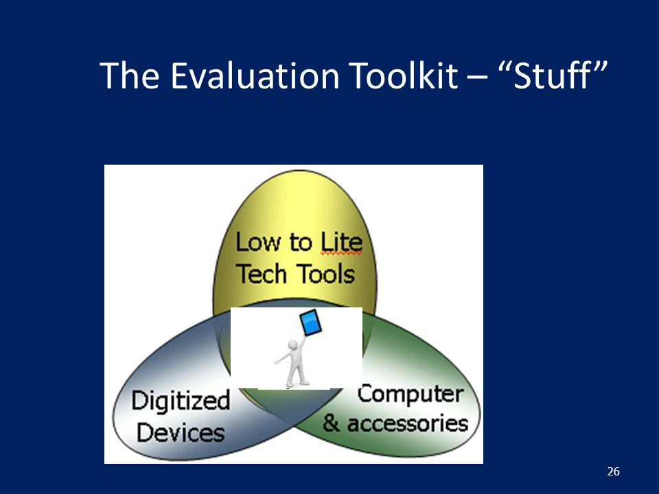 The Evaluation Toolkit – Stuff 26