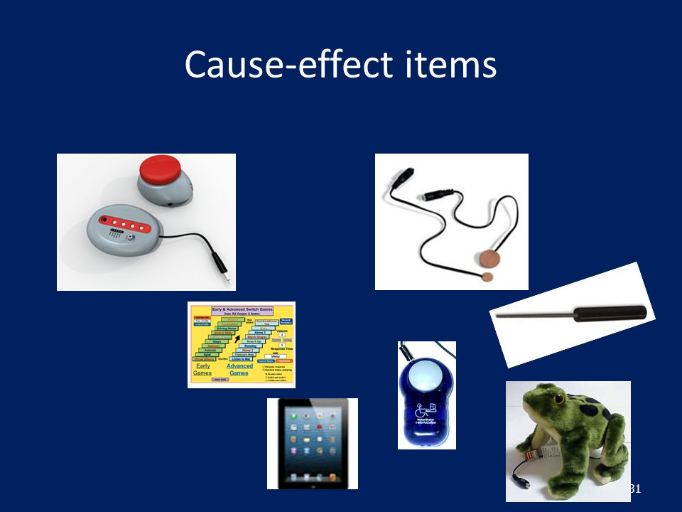 Cause-effect items 31