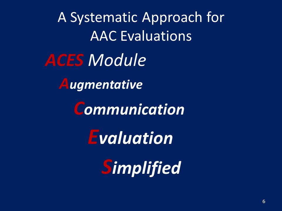 Evaluate language representation options w/demo software Tobii Communicator DynaVox Semesterware PRC PASS Software Words + SayItSAM & EZ keys