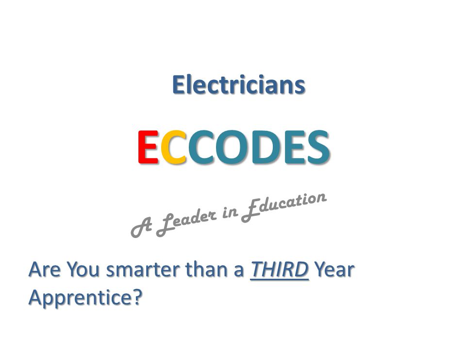 ECCODES A Leader in Education Question: GFCI Accessibility requirement applies to what type of occupancy.