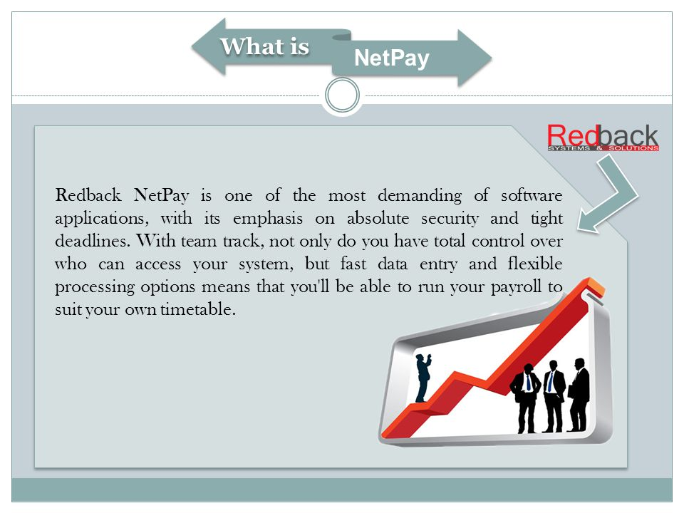 Redback NetPay is one of the most demanding of software applications, with its emphasis on absolute security and tight deadlines.