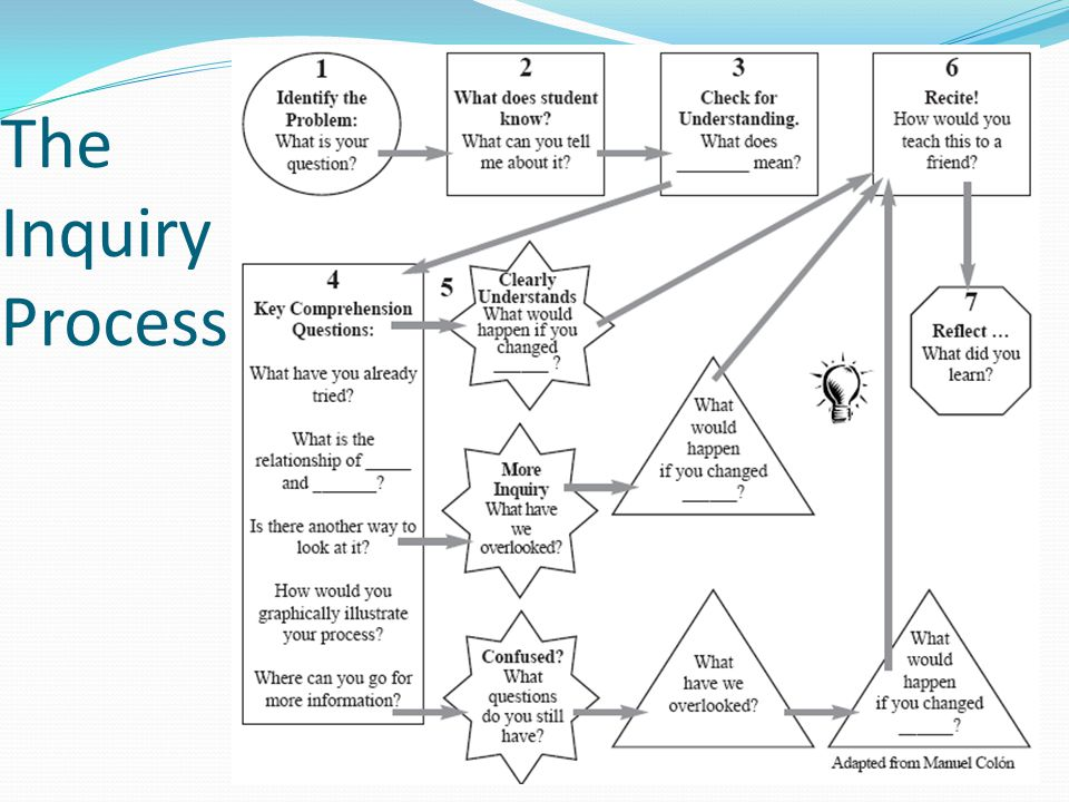 The Inquiry Process