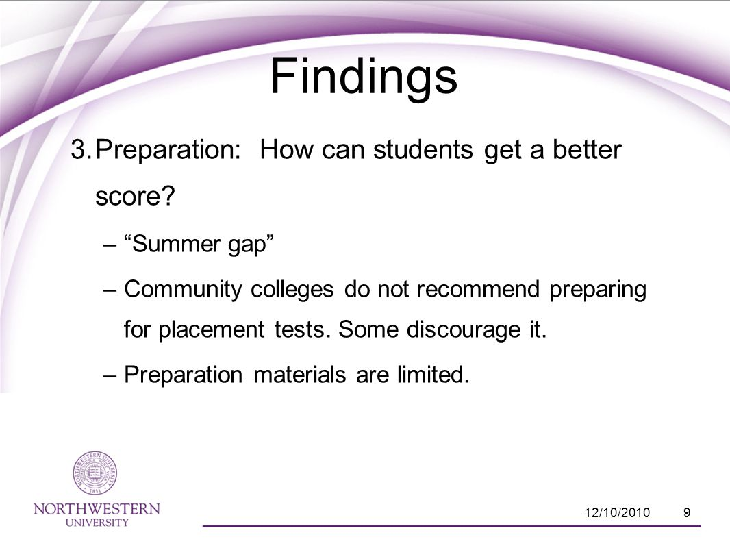 3. Preparation: How can students get a better score.