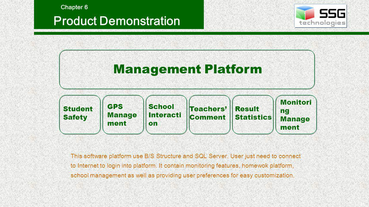 21 This software platform use B/S Structure and SQL Server.