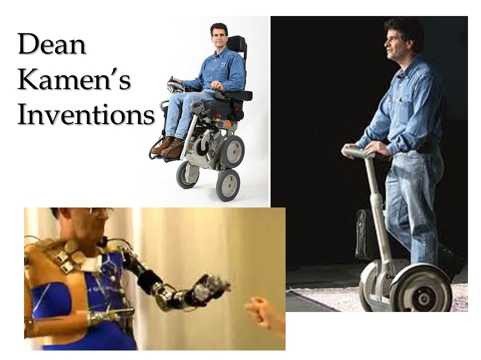 Dean Kamens Inventions