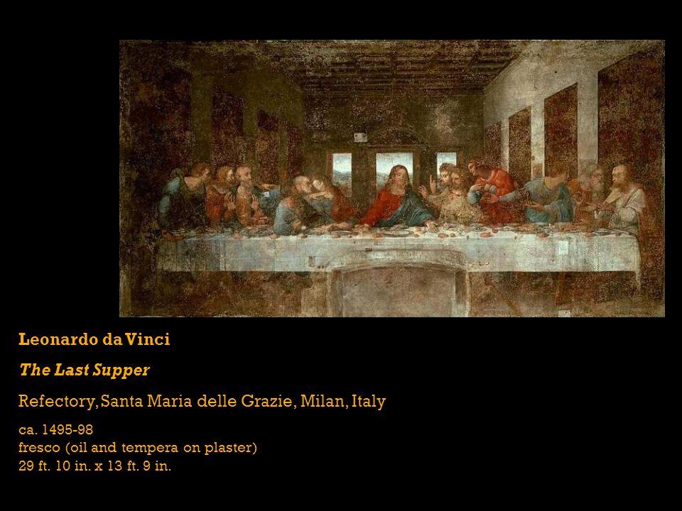 Giovanni Bellini San Zaccaria Altarpiece Santa Zaccaria, Venice, Italy 1505 oil on wood transferred to canvas 16 ft.