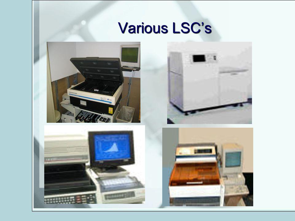Various LSCs