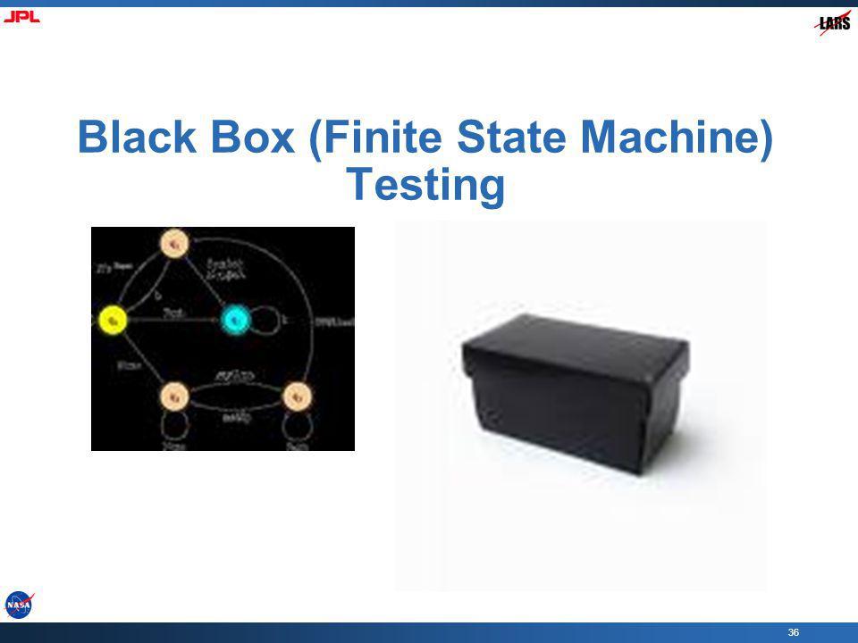 36 Black Box (Finite State Machine) Testing