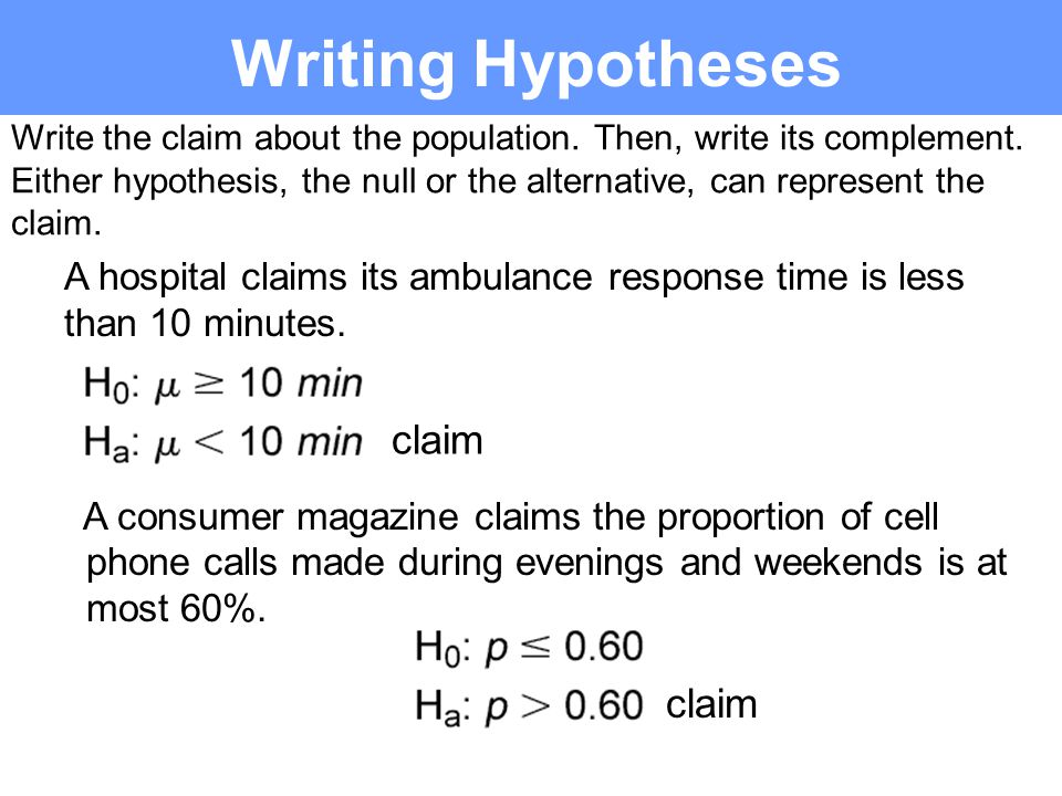 Hypothesis Testing for Proportions Section 7.4