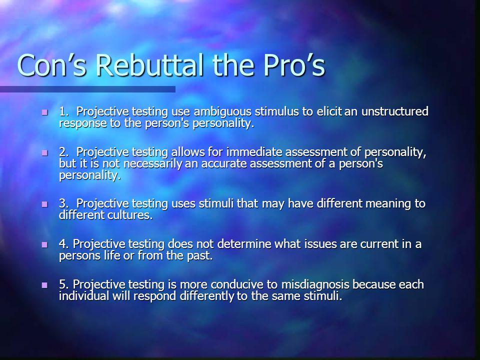 Pros Rebut to the Cons Rebuttal 1.
