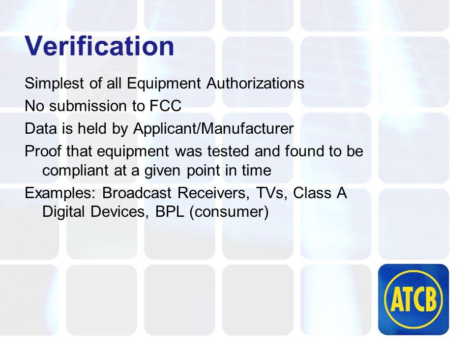 Unlicensed Part 15 Transmitter Approvals