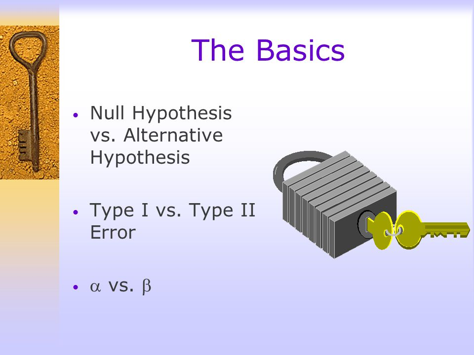 Whats this all about? Hypothesis An educated guess A claim or statement about a property of a population unlikelyThe goal in Hypothesis Testing is to