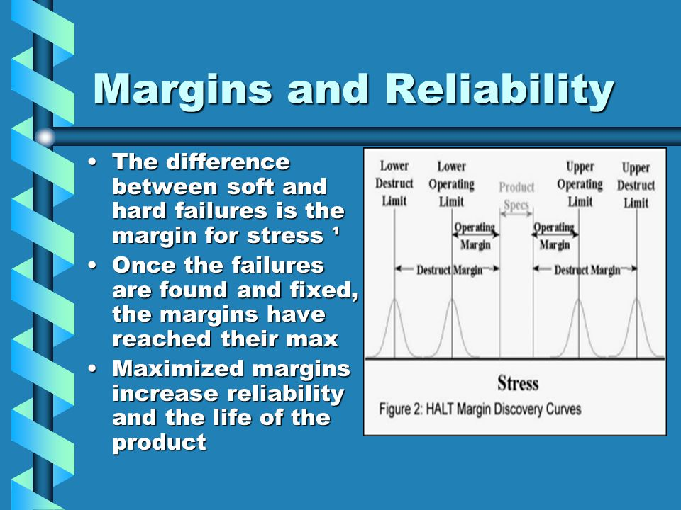 The difference between soft and hard failures is the margin for stress ¹The difference between soft and hard failures is the margin for stress ¹ Once