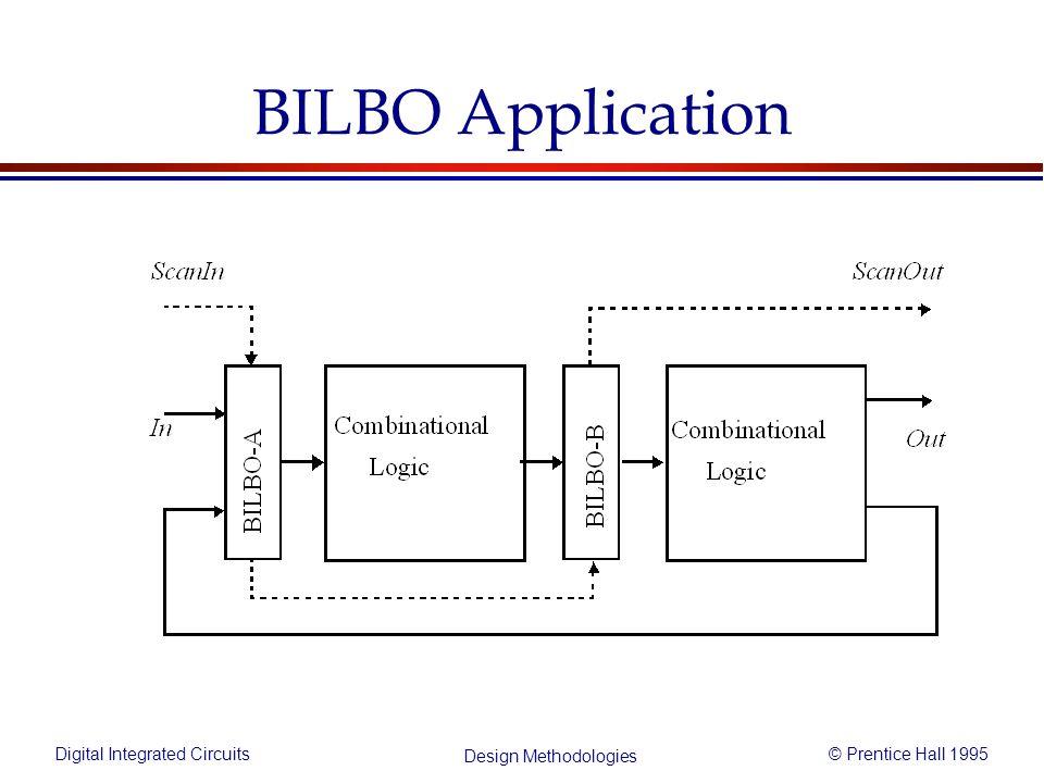 Digital Integrated Circuits© Prentice Hall 1995 Design Methodologies BILBO Application