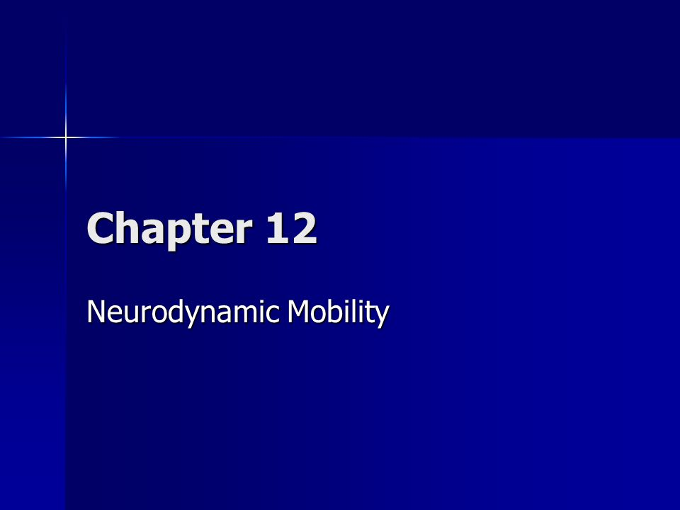 Overview Neurodynamic mobility testing is designed to examine the neurological structures for adaptive shortening and inflammation of the neural structures Neurodynamic mobility testing is designed to examine the neurological structures for adaptive shortening and inflammation of the neural structures