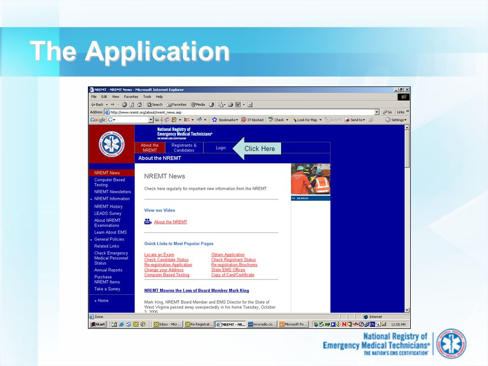 The Application Click Here