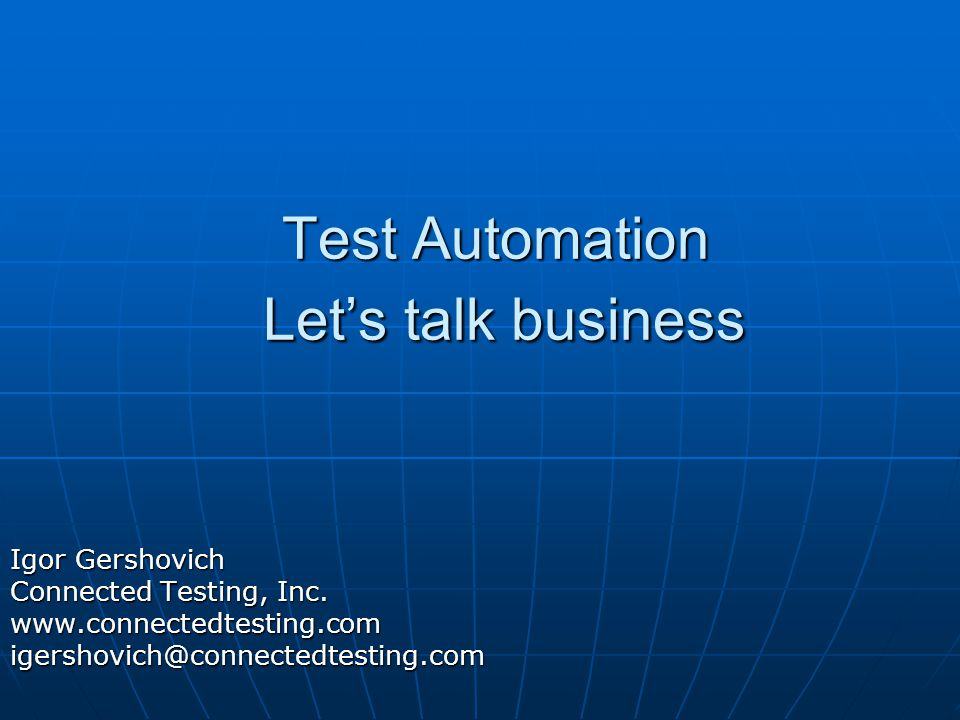 Test Automation Framework A Test Automation Framework is a set of assumptions, concepts and tools that provide support for Automated Software Testing.