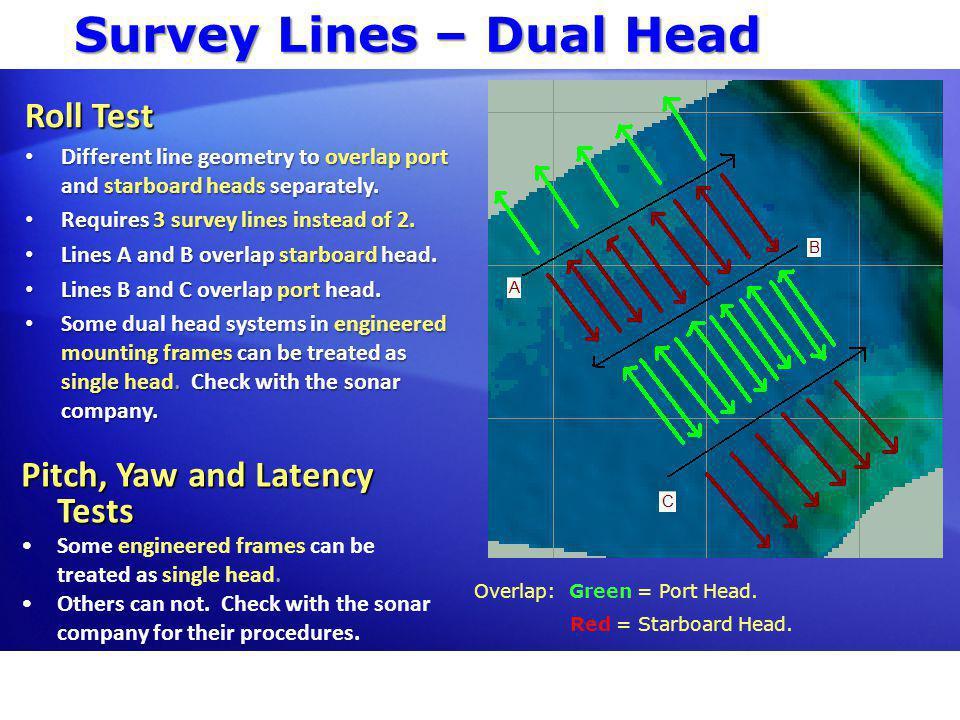 Survey Lines – Laser Scanner HYPACK® data from Optech ILRIS scanning laser.