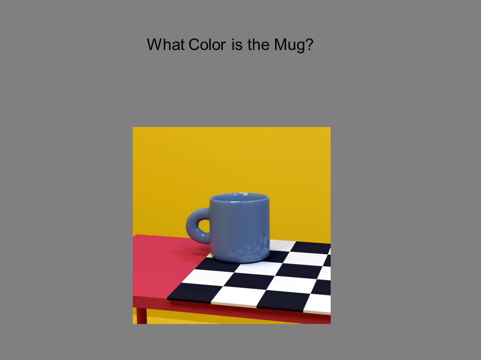 What Color is the Mug