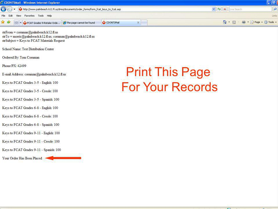 36 Print This Page For Your Records