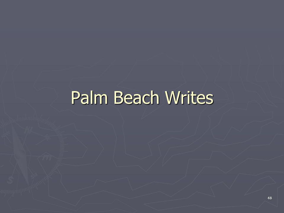 Palm Beach Writes 48