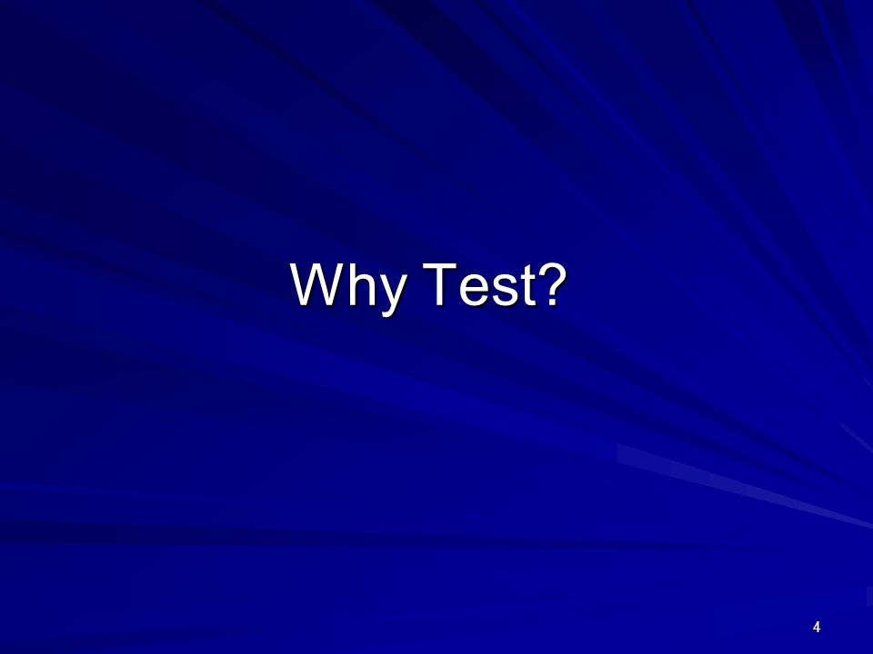 85 Every test question can be improved.