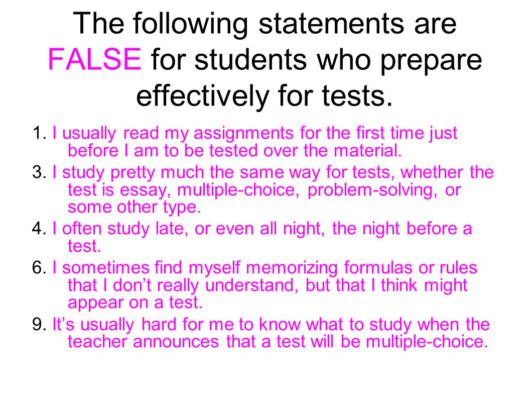 Test Preparation Progress Check The following questions will give you a chance to see what youve learned...