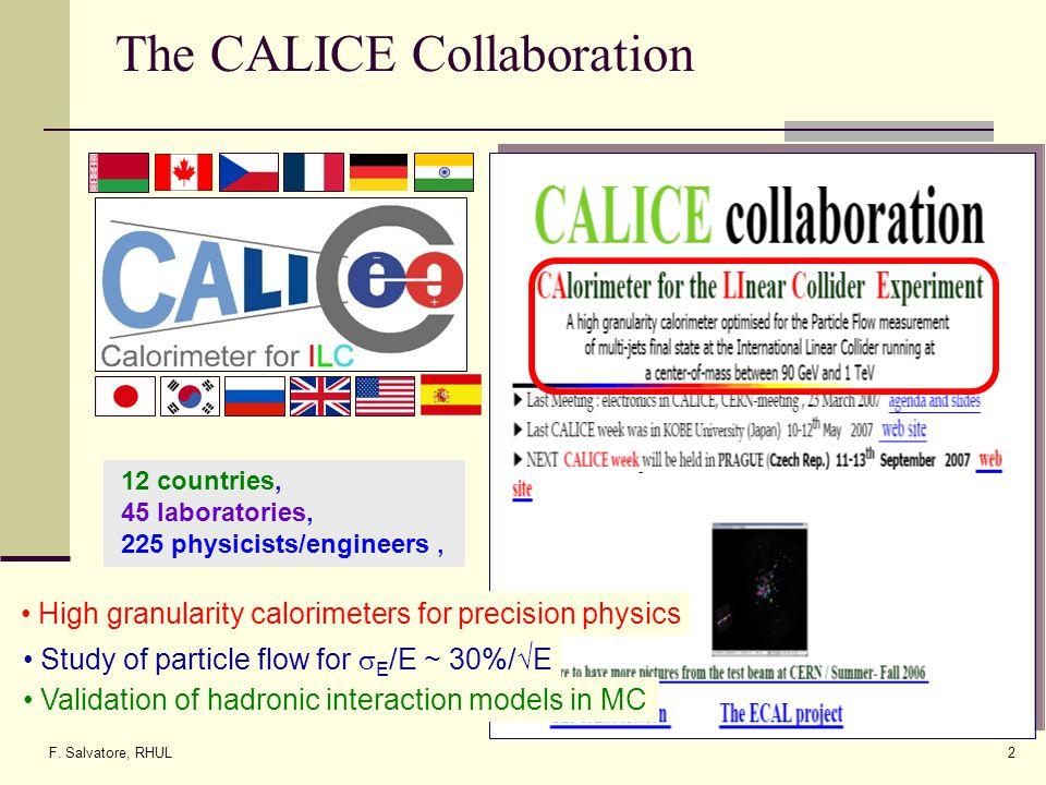 F. Salvatore, RHUL43 Backup slides