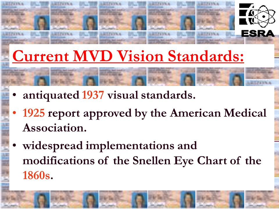 17 No license test screening component for Glaucoma or Age-Relate Macular Degeneration (AMD), two of the fastest growing diseases that can result in v