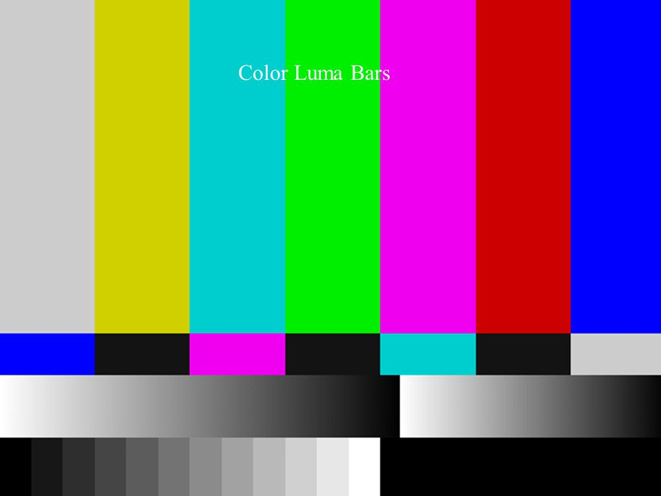 Color Luma Bars